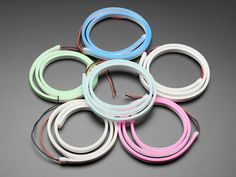 Flexible Silicone Neon-Like LED Strip in Various Colors - 1 Meter