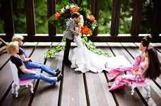Barbie & Ken's Wedding Album...this is surprisingly cool and very well done!