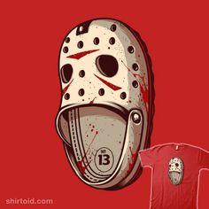 Killer Hashtags: #comic #comics #crocs #dccomics #es427 #film #fridaythe13th #horror #jasonvoorhees #killercroc #movie #shoe