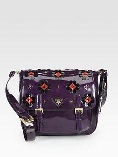 Prada Spazzolato Messenger Bag