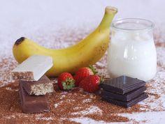 Barritas energéticas con 34 % de teff, las hay de plátano bañadas en chocolate y de fresa bañadas en yogur