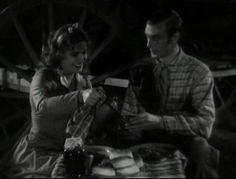 "GARY COOPER with Lili Damita in ""Fighting Caravans"""