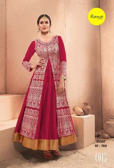 Fashions By India Exclusive Designer Gown 35507
