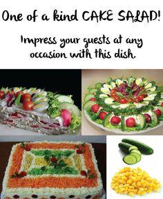 Cake salad