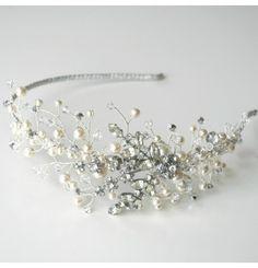 Lana - Bridal Jewelled headband