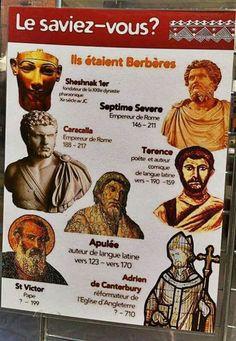 Saviez que ces grandes personnalités étaient berbères ! -