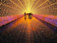Incredible Winter Light Festival in Japan