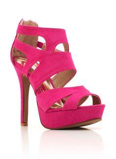 strappy high heel sandals $30