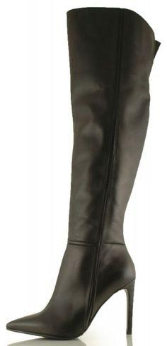 kozaki baldowski d01391/1451/002koc czarny Heeled Boots, Heels, Model, Fashion, High Heel Boots, Heel, Moda, Heel Boots