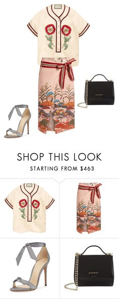 """""""Untitled #15019"""" by explorer-14576312872 ❤ liked on Polyvore featuring Gucci, Stella Jean, Alexandre Birman and Givenchy"""