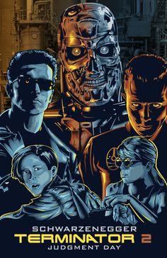 Terminator 2 by willldervalera on deviantART