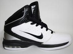 Genuine Nike Max Hype Mens Womens White Basketball Shoes Size 6 UK Ex Display