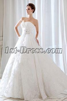 Floor Length Long Destination Wedding Dresses 2013:1st-dress.com