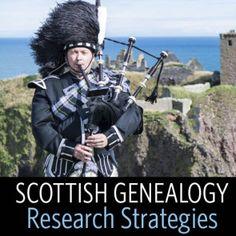 Scottish Genealogy Research Strategies