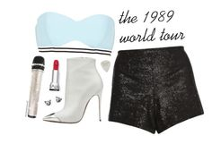 """""""The 1989 World Tour // Taylor Swift"""" by itsicefashionsworld ❤ liked on Polyvore featuring River Island, Dorothy Perkins, Christian Louboutin, taylorswift, 1989 and 1989worldtour"""