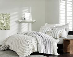 Ink and Ivy Sutton 3-piece Duvet Cover Set - can't decide which color I like best.