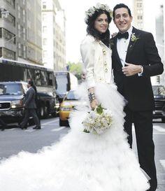 Man Repeller Leandra Medine on her wedding day