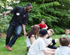 Bruins goaltender Malcolm Subban helps kick-off summer reading at Tewksbury Public Library. The Boston Bruins partner with the MBLC and MLS to bring summer reading programs to more than 300 libraries across the state.