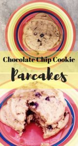 Breakfast Recipes Pancakes Chocolate Chips Ideas For 2019 Make Chocolate Chip Cookies, Chocolate Chip Pancakes, Chocolate Cookie Recipes, Peanut Butter Cookies, Chocolate Chips, Breakfast Pancakes, Breakfast Recipes, Dessert Recipes, Pancake Recipes