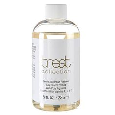 A gentle soy based formula made with pure argan oil and enriched with vitamins A, C & E to promote healthy, nourished nails. Does not contain acetone.