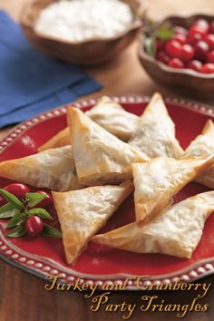 Perfect light, elegant bites for the upcoming holiday gatherings!