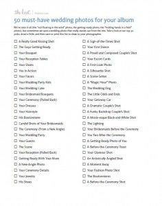 the 23 best wedding photography checklist images on pinterest