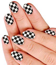 Checker Nails