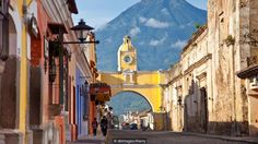 The colonial city of Antigua, Guatemala is bright and colorful (Credit: Credit: dbimages/Alamy)