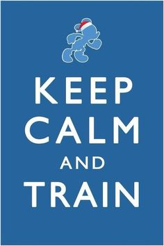 Keep calm and train #running #disney #rundisney    Perhaps I should print this and hang it up somewhere that I have to look at it every day!