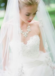 Minnesota Wedding from Emily Steffen Photography - One of the lovely featured in our Fashion & Beauty e*magazine! Read more - www. Mod Wedding, Wedding Veils, Wedding Bride, Dream Wedding, Wedding Dresses, Bridal Headpieces, Bridal Gowns, Wedding Styles, Wedding Photos