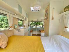 Mini Caravan, Caravan Bar, Caravan Decor, Retro Caravan, Camper Caravan, Caravan Makeover, Caravan Renovation, Caravan Paint, Camper Van Conversion Diy