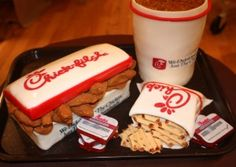 Chick fil A grooms cake, a tribute to Atlanta