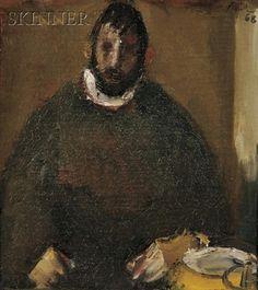 Corneliu Baba, Portrait of a Seated Man
