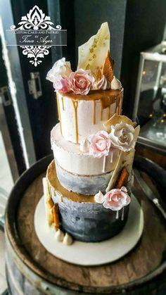 Znalezione obrazy dla zapytania wedding cake drip