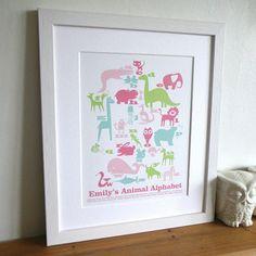 Personalised Animal Art Print
