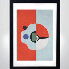 POKEMON vs DIGIMON poster   Wall Art Print  Poster | Etsy Pokemon Vs Digimon, Poster Wall, Poster Prints, Pokemon Merchandise, Minimalist Poster, Cool Posters, Anime, Art Google, Graphic Prints