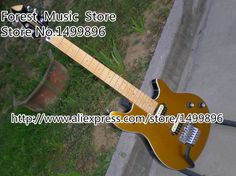 Custom Shop Goldentop Peavey EVH Wolfgang Electric Guitar China Kits & Body Left Handed Custom Available #Affiliate