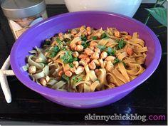Cold Peanut Sesame Noodle Saladrecipe