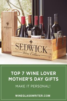 Celebrate the most important person in your life, who deserves the best this Mother's Day. If she enjoys wine or entertaining, these popular gifts will delight her; take advantage of our gift wrap option to ship it directly if you no longer live nearby. We will hand write your message and wrap it with the loving care she deserves. #mothersday #mothersdaygifts #gifts #wine #personalized Wine Cellar, Tablescapes, Gift Wrapping, Entertaining, Messages, Popular, Ship, Live, Gifts