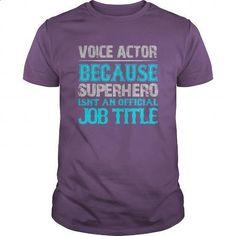 Voice Actor Shirt   Design T Shirts #pullover Hoodies #design Shirt