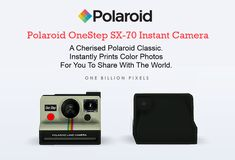 One Billion Pixels: Functional Polaroid Cameras (The Sims 4)