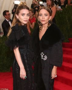 Hush, hush: Neither Mary-Kate nor Ashley have their own public Instagram accounts, despite appearing on others' accounts