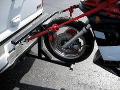 Motorcycle Trailer Carrier Tow Dolly Hauler Hitch Rack