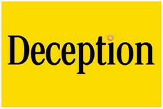 Deception.  A great article about GMO's and the Cheerio backfire