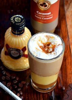Kaffeedrink Toffee Nut Latte mit Verpoorten Original Bild 2 Starbucks Frappuccino, Cocktails, Panna Cotta, Pudding, Ethnic Recipes, Desserts, Round Round, Drinking, Christmas