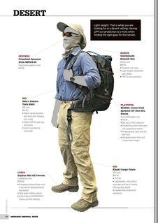 How to dress | Desert