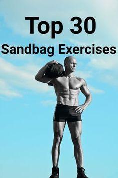The Best Sandbag Exercises: 30 Sandbag Exercises, Part 2 Fit Board Workouts, Running Workouts, Fun Workouts, Best Fitness Watch, Best Fitness Tracker, Sandbag Workout, Wod Workout, Fitness Watches For Women, Sand Bag