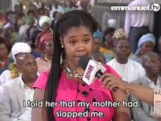 Denise Williams Encounter With T.B Joshua