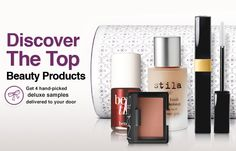 TOPBOX | Luxe beauty samples delivered to you in a beautiful box each month. $12/Month only in Canada