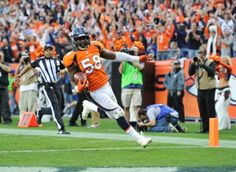 LB Von Miller is the first player in team history to earn a Pro Bowl selection in each of his first two seasons